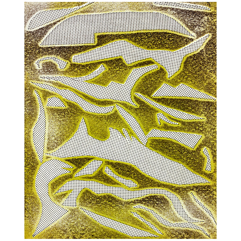 """Pieces , 2013 softground, aquatint and drypoint 14 x 11"""" image 19.5 x 16"""" paper Edition of 30  Inquire >"""