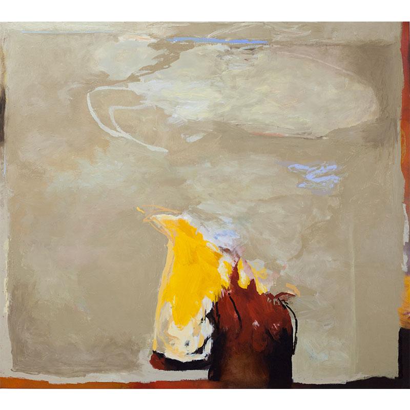 """Still Formative , 2016 oil on linen 48 x 53""""  Inquire >"""
