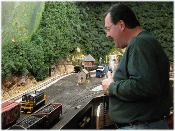 Darwin Vanderpol working Ricksburg