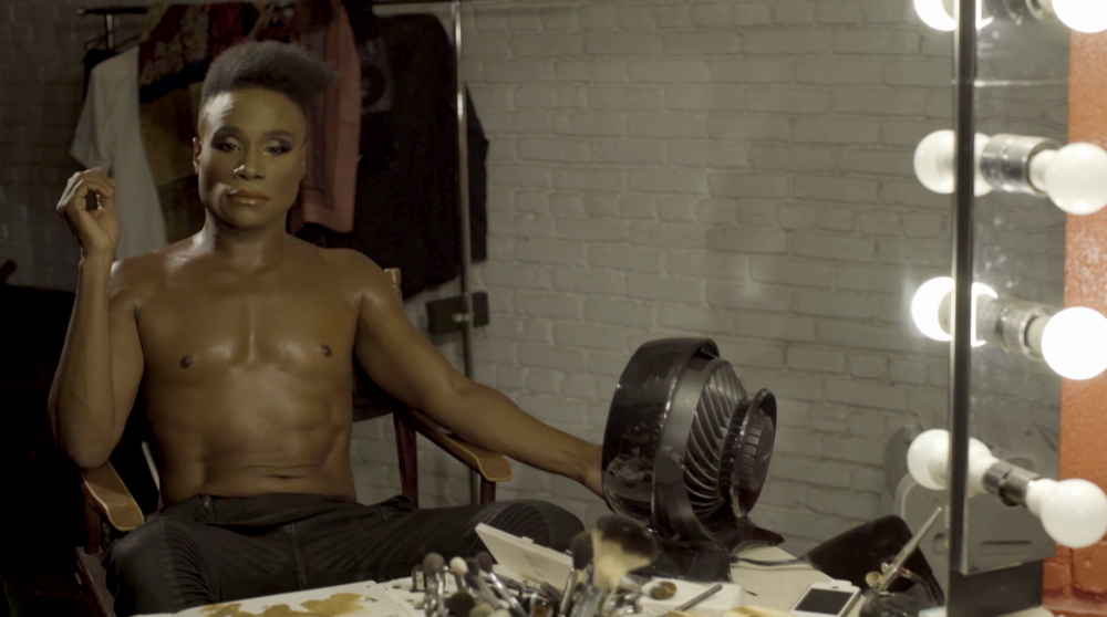 WASH THAT MAN                Billy Porter  Music Video                                     2017 - Billy Porter turns the classic, Wash That Man, into a powerful song about the current political climate.