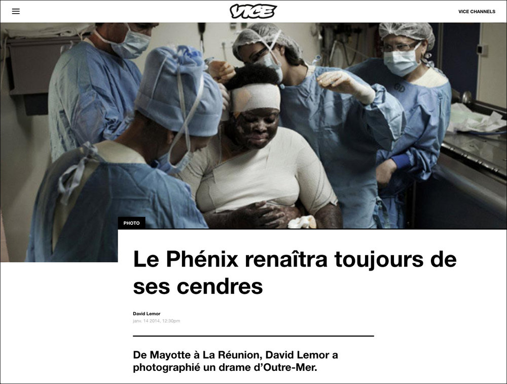 """Phénix"" dans  VICE  - 01/2014"