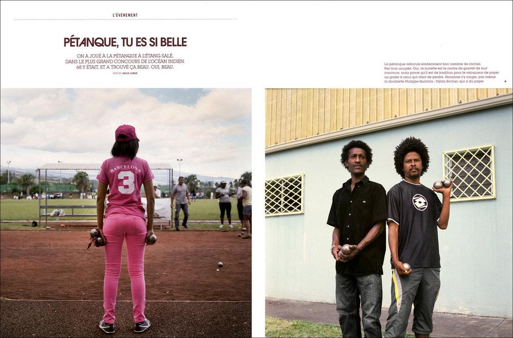 Reportage pour  68MAG  (La Réunion) - 11/2012