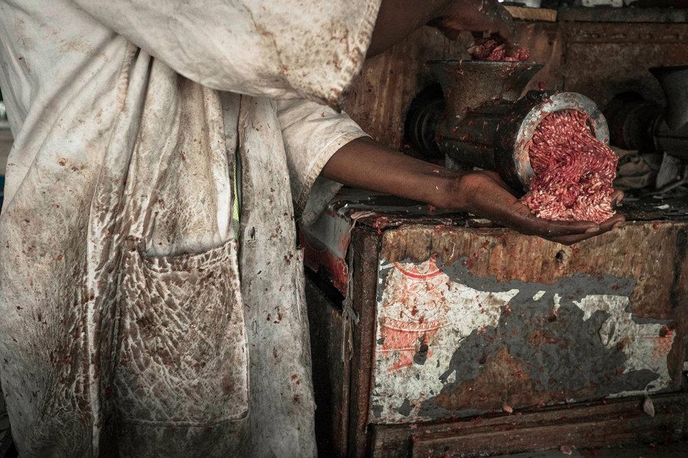 Marché couvert de Tamatave