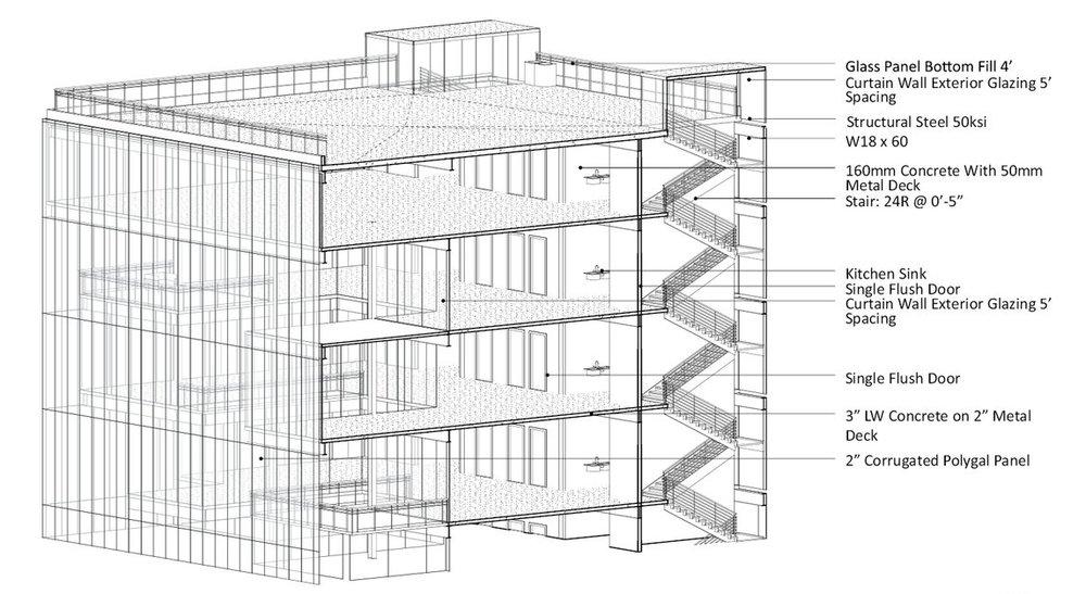 REVIT STRUCTURE 3D SECTION