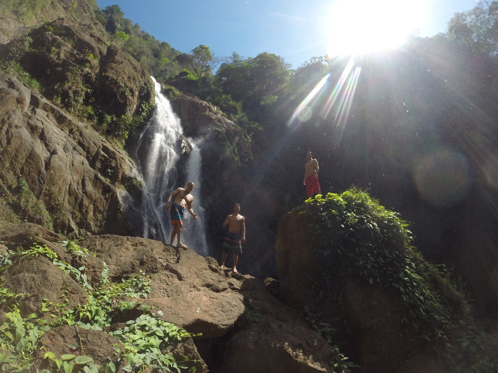 Hike the tallest waterfall - For the brave at heart