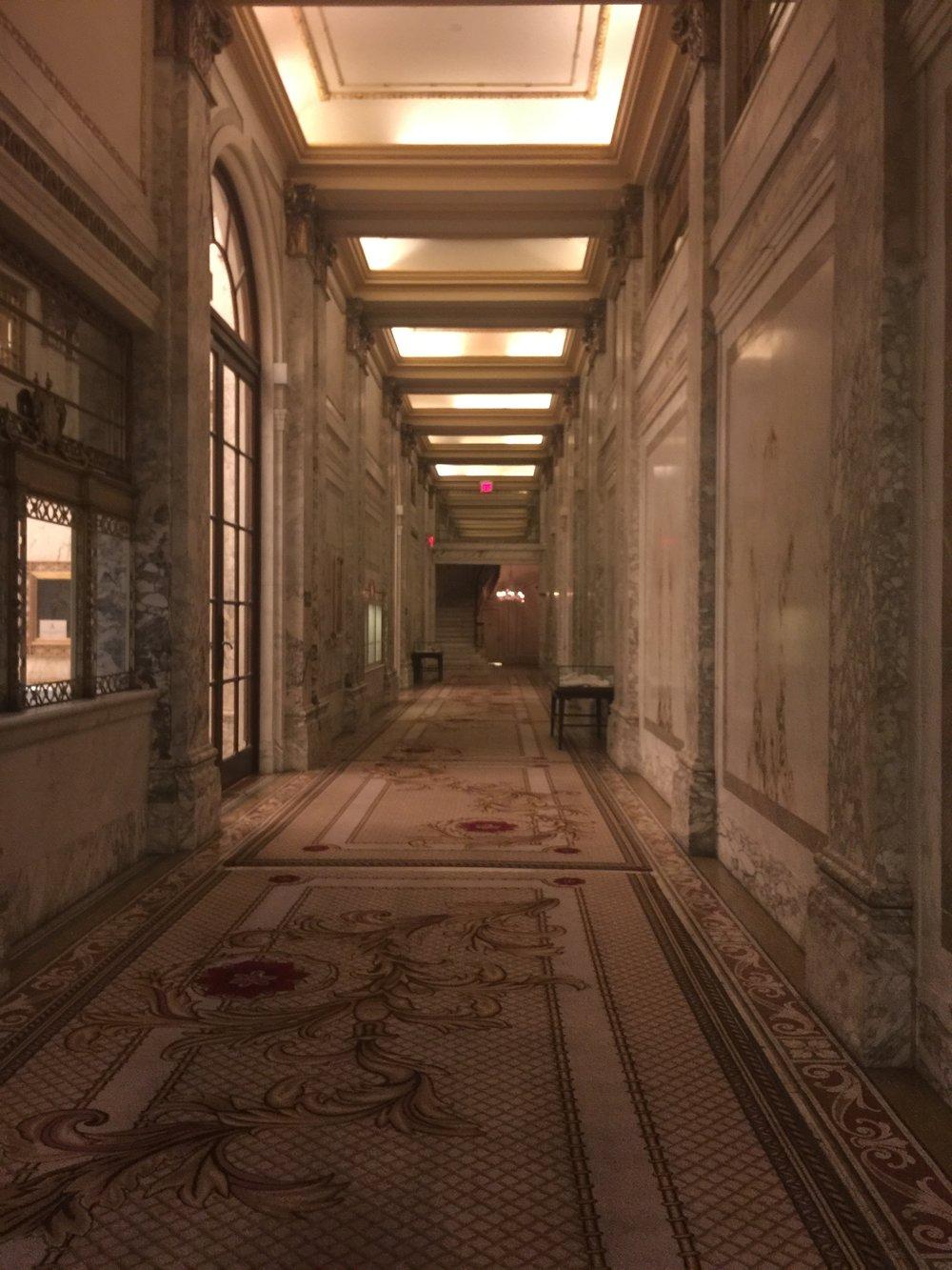 Inside The Plaza Hotel in NY