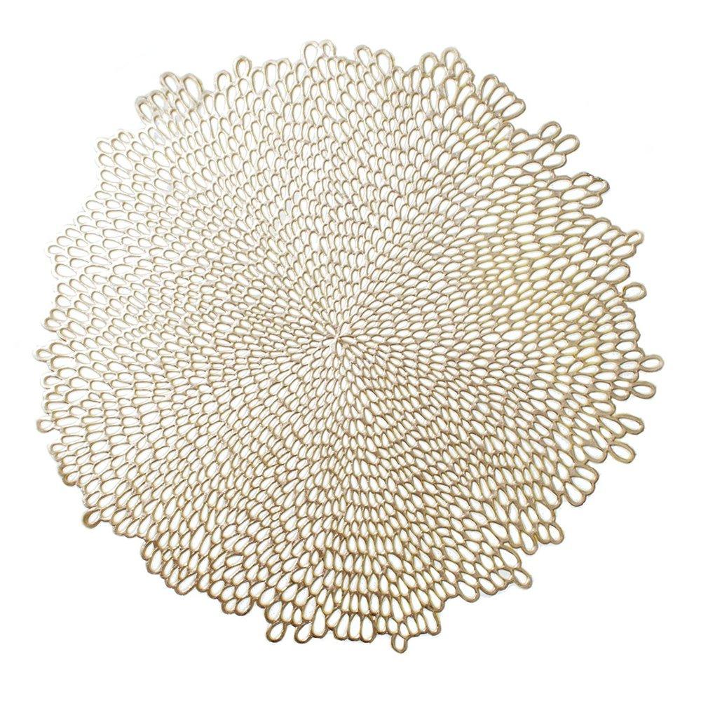 Gold Vinyl Placemat