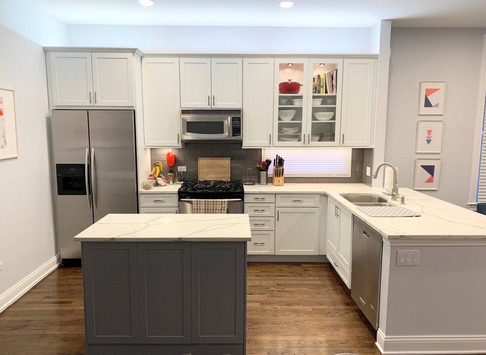 Whittaker Interiors  Kitchen Upgrade