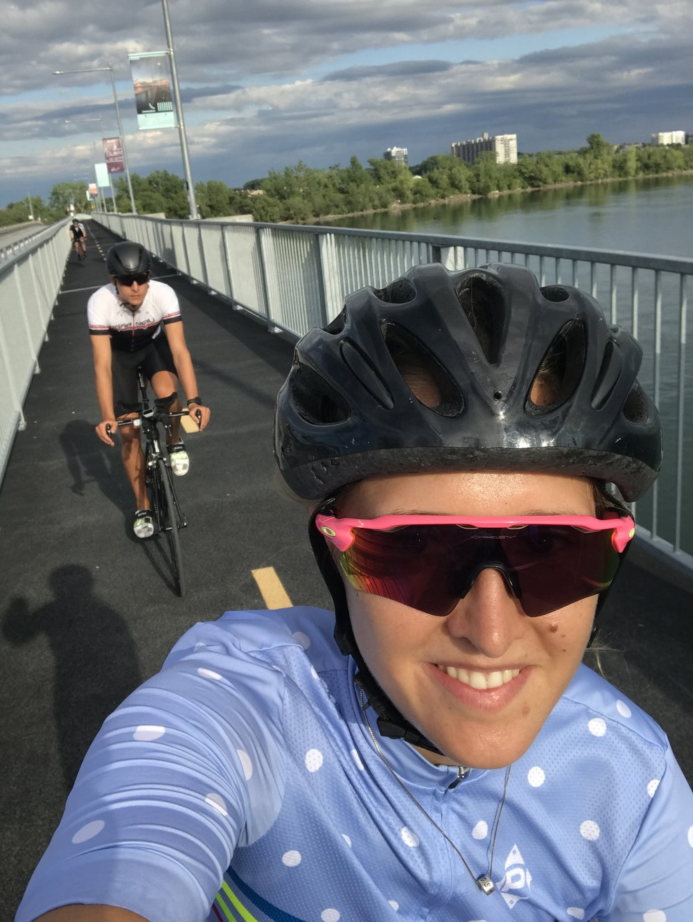 Great time riding with my brother in Montreal