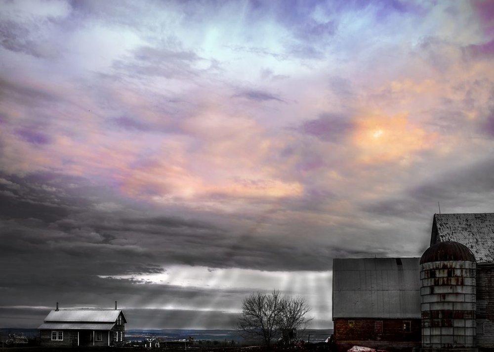 Amish Overhead 2838