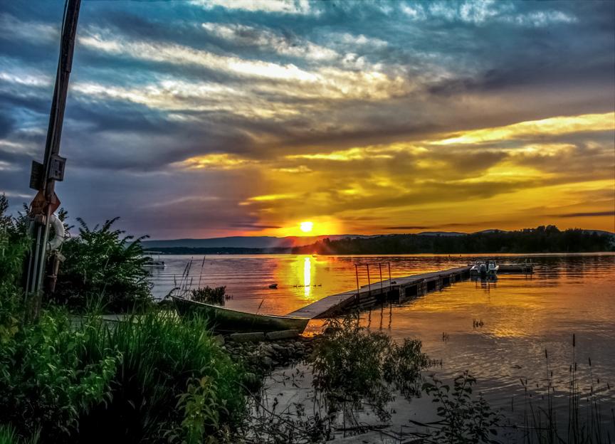 Sacandaga Sunset 7123