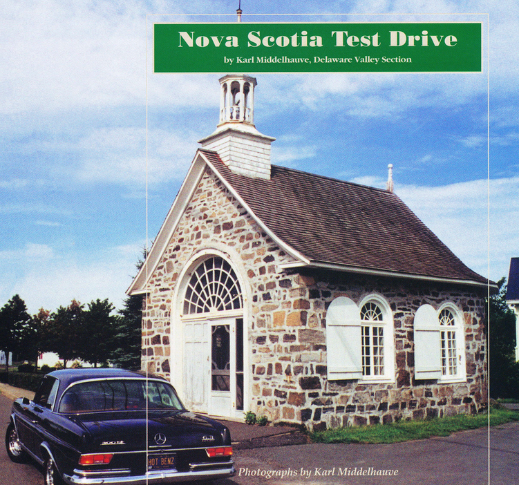 Nova Scotia Test Drive
