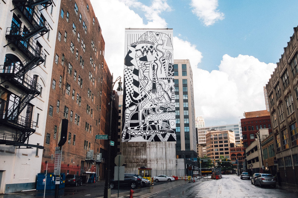 CHARLES MCGEE MURAL.© SAL RODRIGUEZ