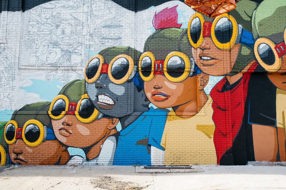 HEBRU BRANTLEY MURAL © MICHELLE + CHRIS GERARD