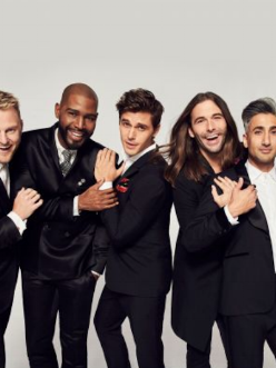 4. Queer eye for the straight guy - YAS QUEEN!!!