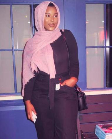Asha Hussein, the author