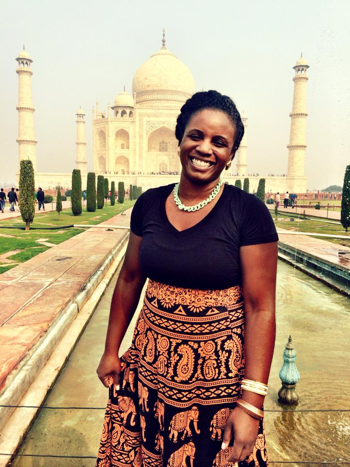Our speaker,Nyasha Bralock describes her unique global travelling experiences as a black American woman.