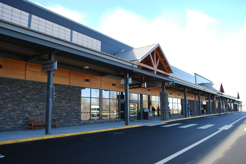 Bellingham International Airport (BLI) Was Recently Remodeled And Can Be A Nice Alternative To Seattle Or Vancouver, BC.  Picture Courtesy Of Bellingham.org