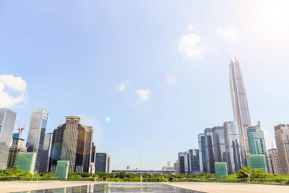 Shenzhen is a modern metropolis known for shopping and high tech industry.