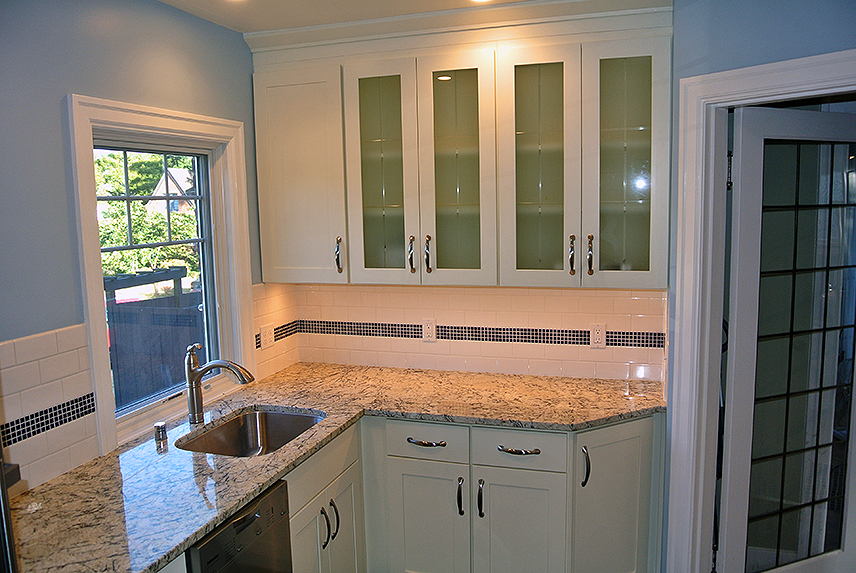 Ballard Kitchen - sink, countertop and cabinetry