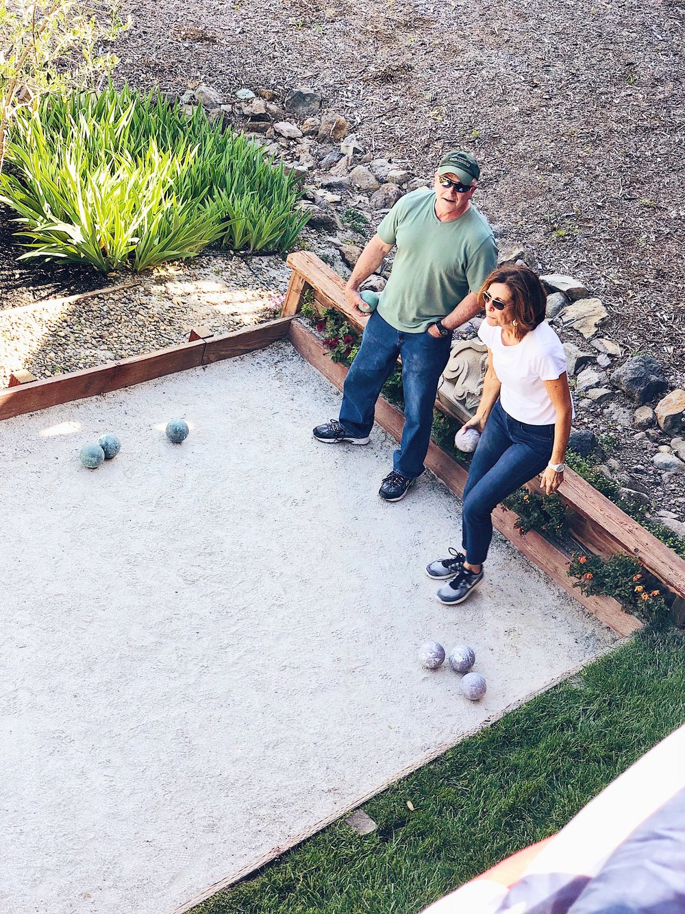 Bocce Ball At Armida Winery