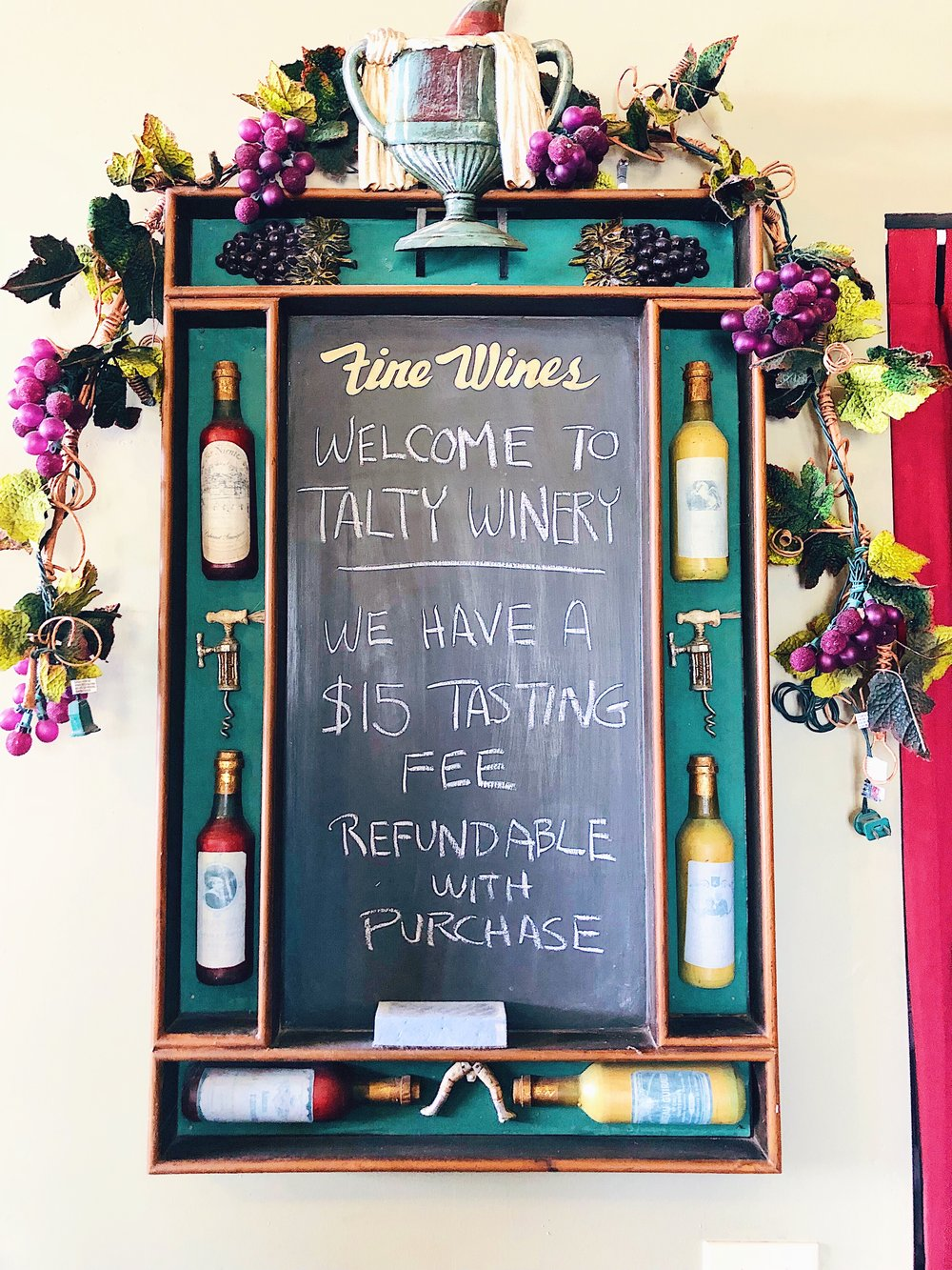 Talty Wines Tasting