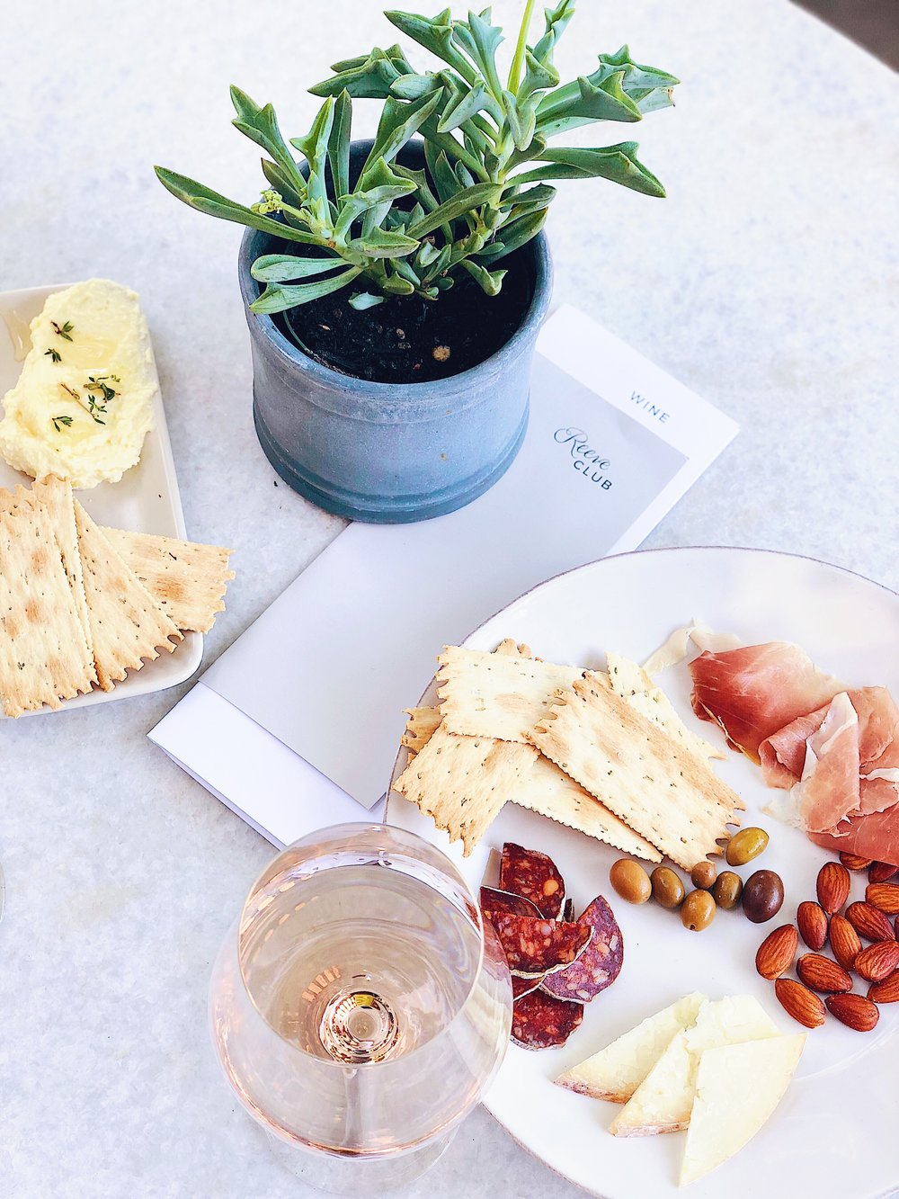Charcuterie At Reeve Wines