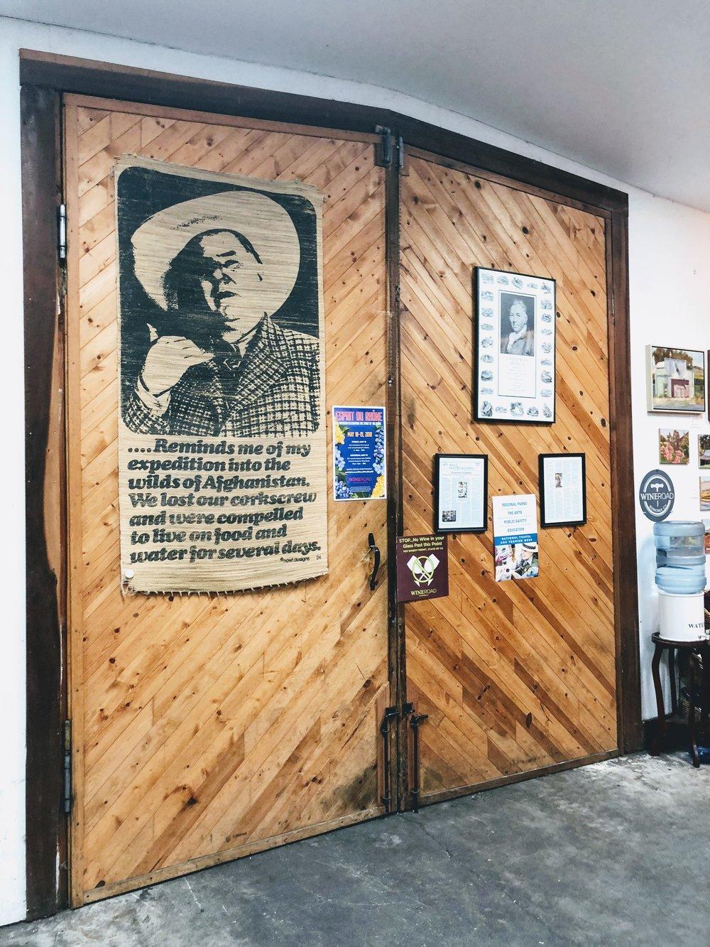 Joseph Swan Door