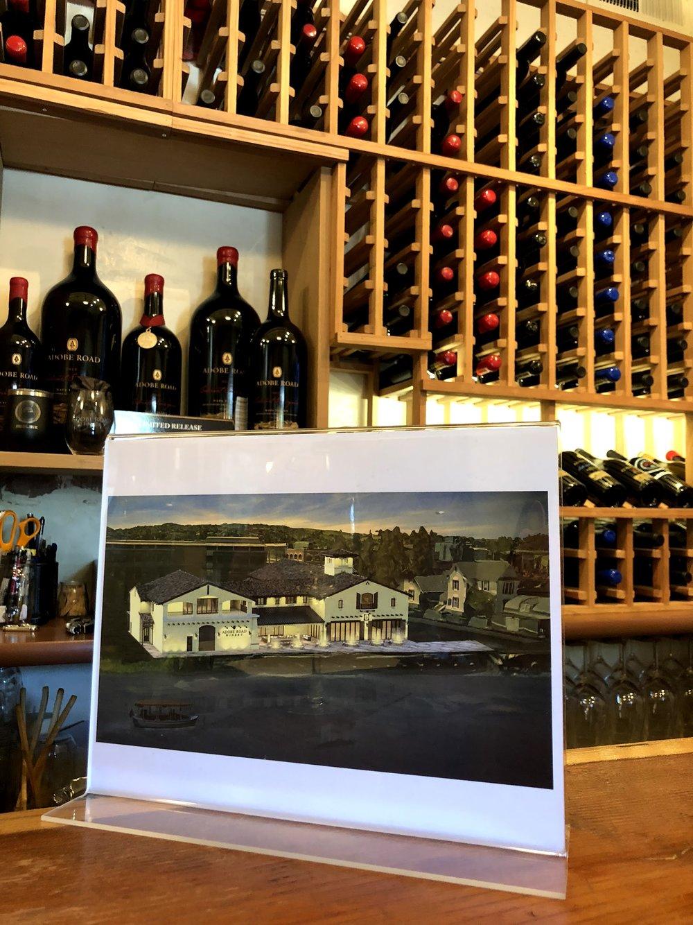 Waterfront Adobe Road Winery Tasting Room