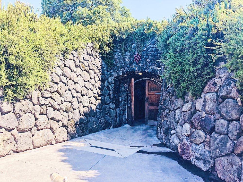 Alexander Valley Wine Cave