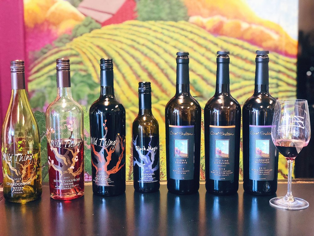 Bottles Of Carol Shelton Wine
