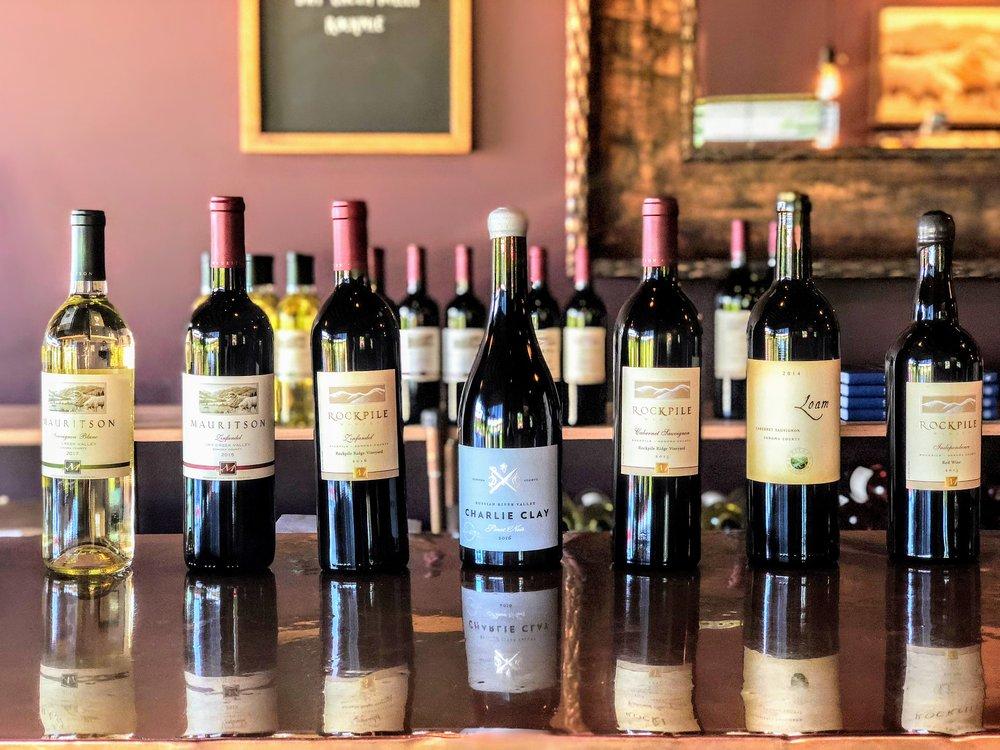Mauritson Winery Wine Bottles