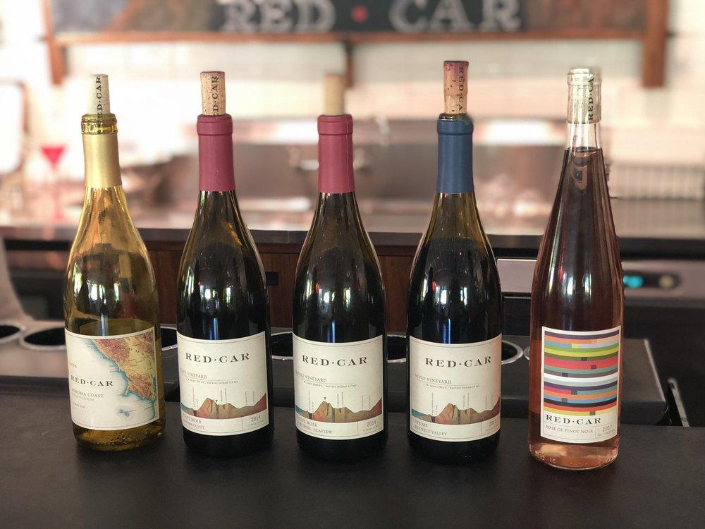 Red Car Sebastopol Wine