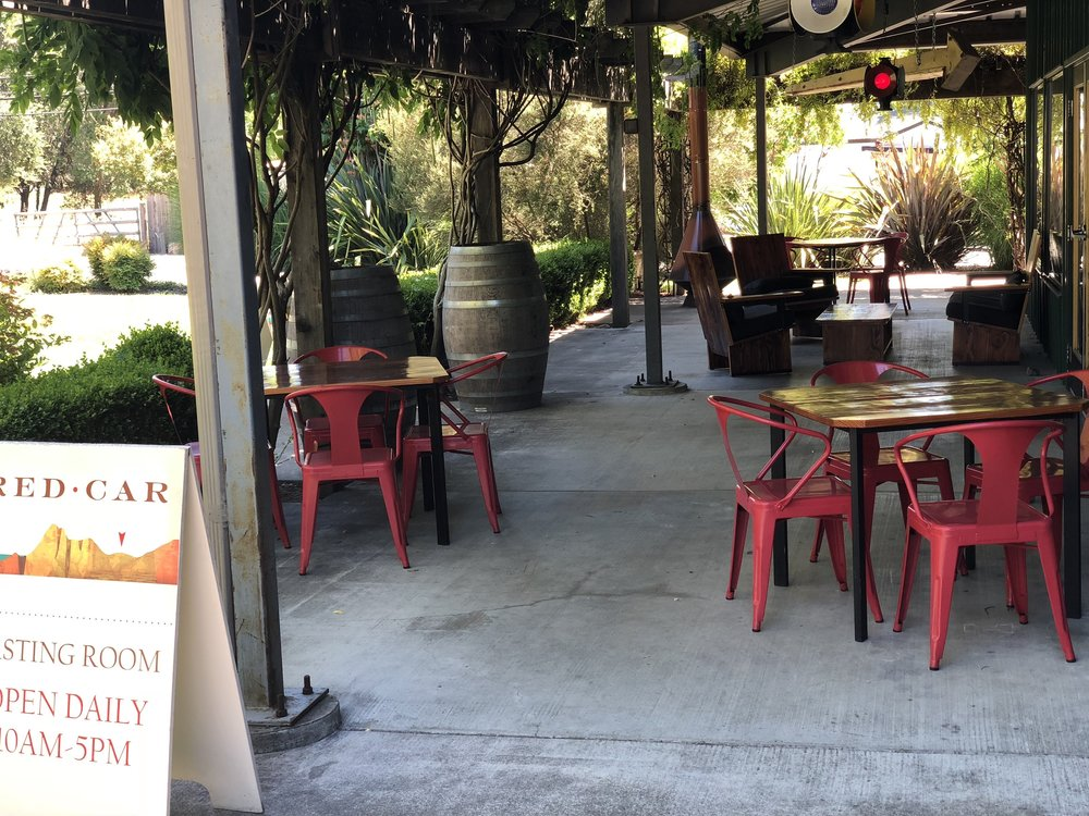 Red Car Winery Patio