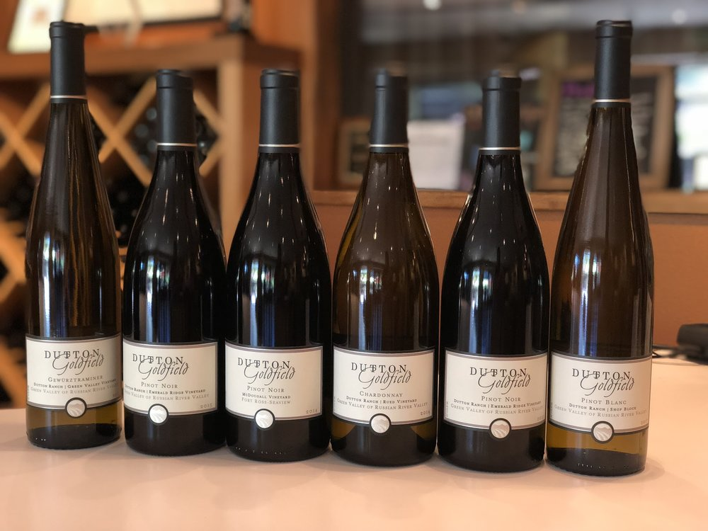 Pinot and Chardonnay At Dutton-Goldfield