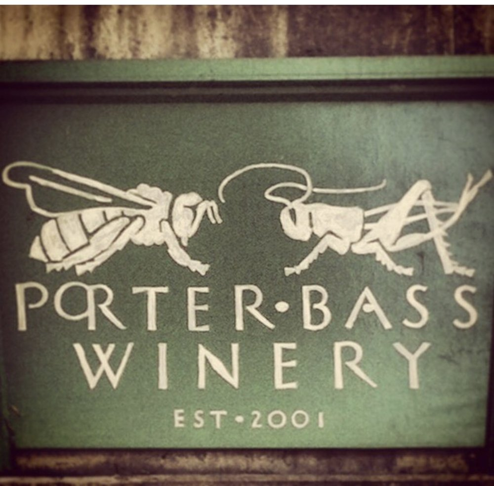 Porter Bass Wine Label