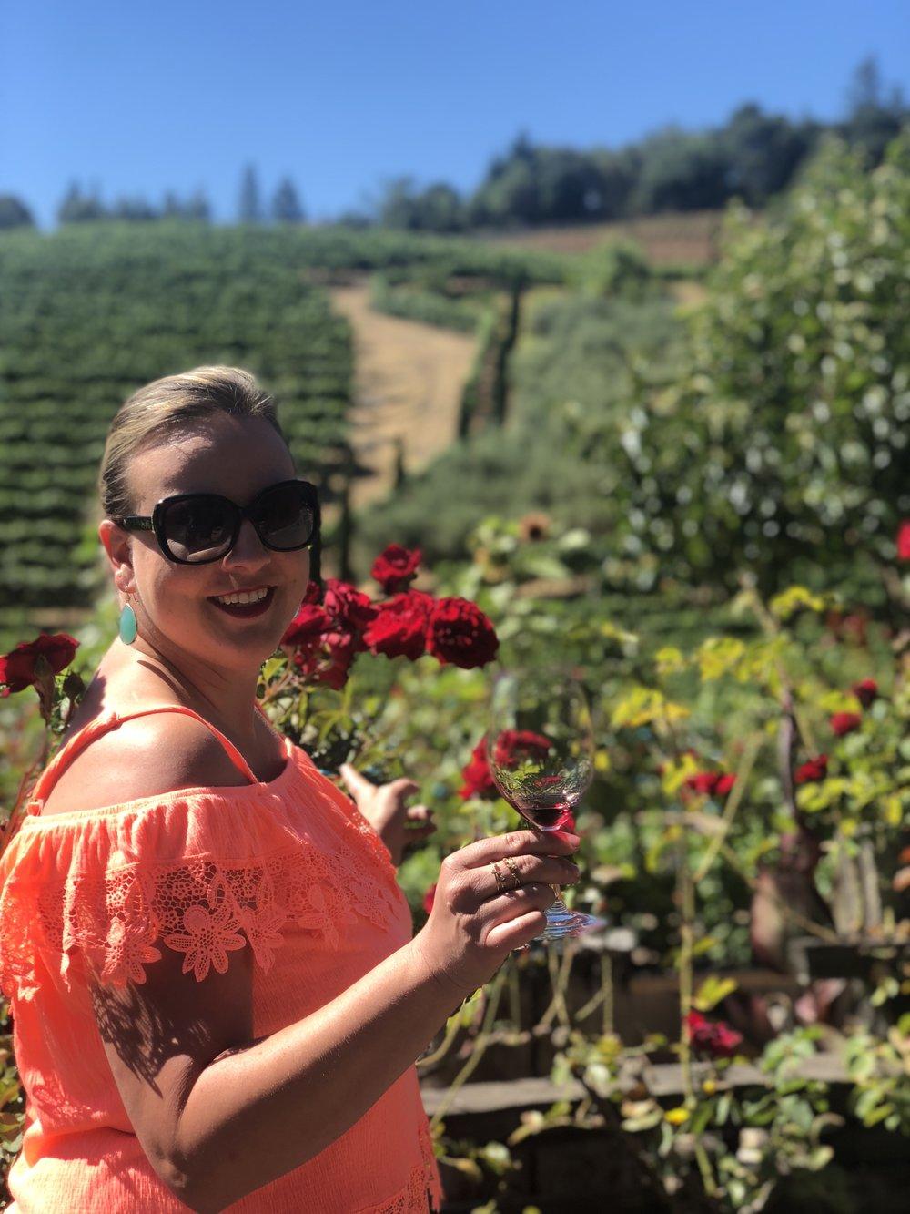 Wine Tasting At Rafanelli Winery
