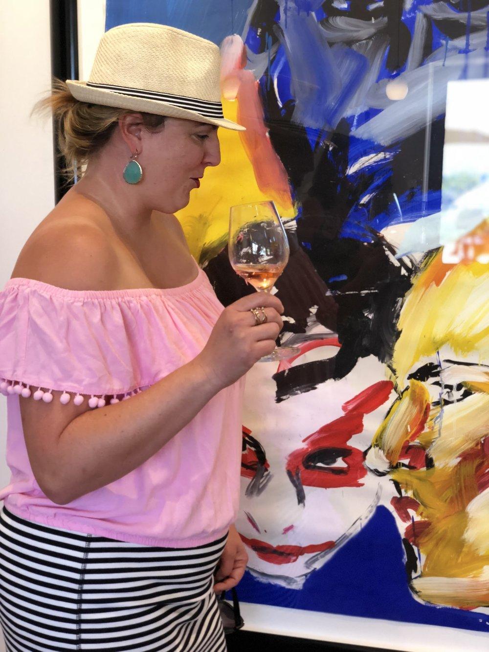 Art At Fog Crest Vineyards