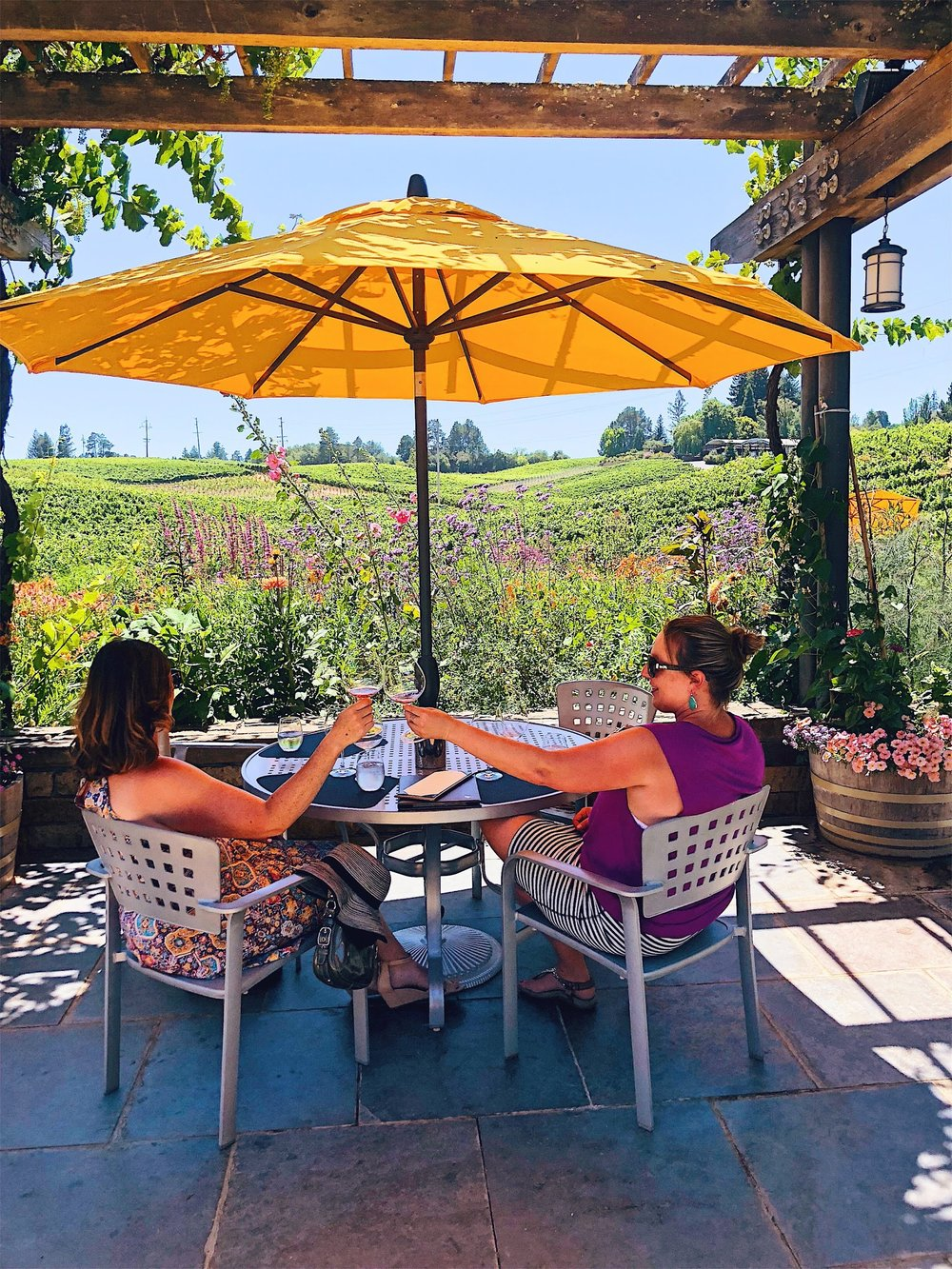 Lynmar Estates Sebastopol Patio