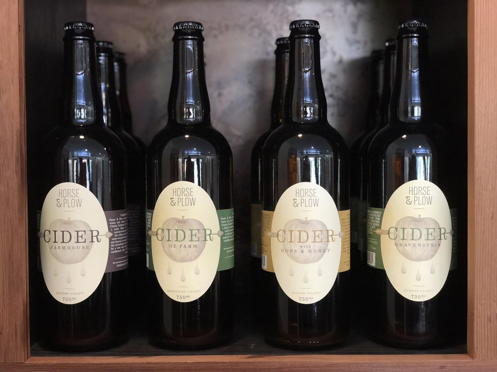 Horse & Plow Cider