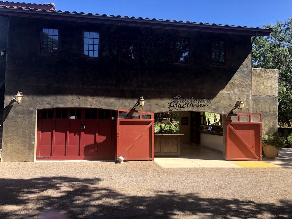 Gracianna Winery Grateful Wines