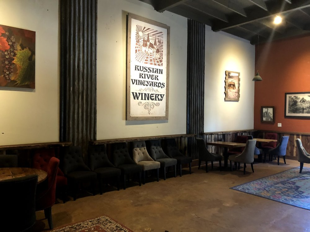 Russian River Vineyards Tasting Lounge