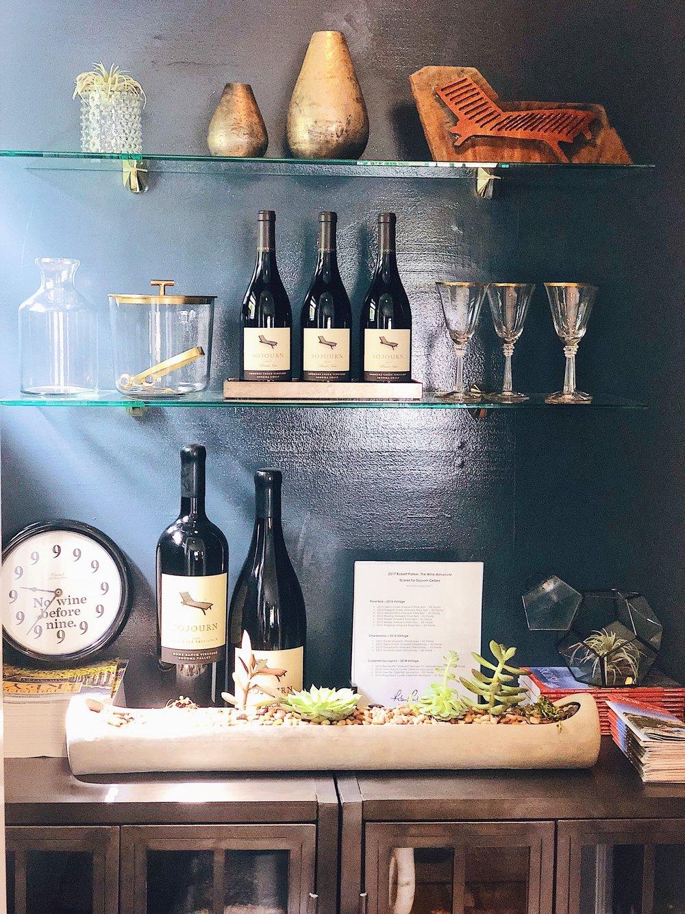 Sojourn Cellars Tasting Room