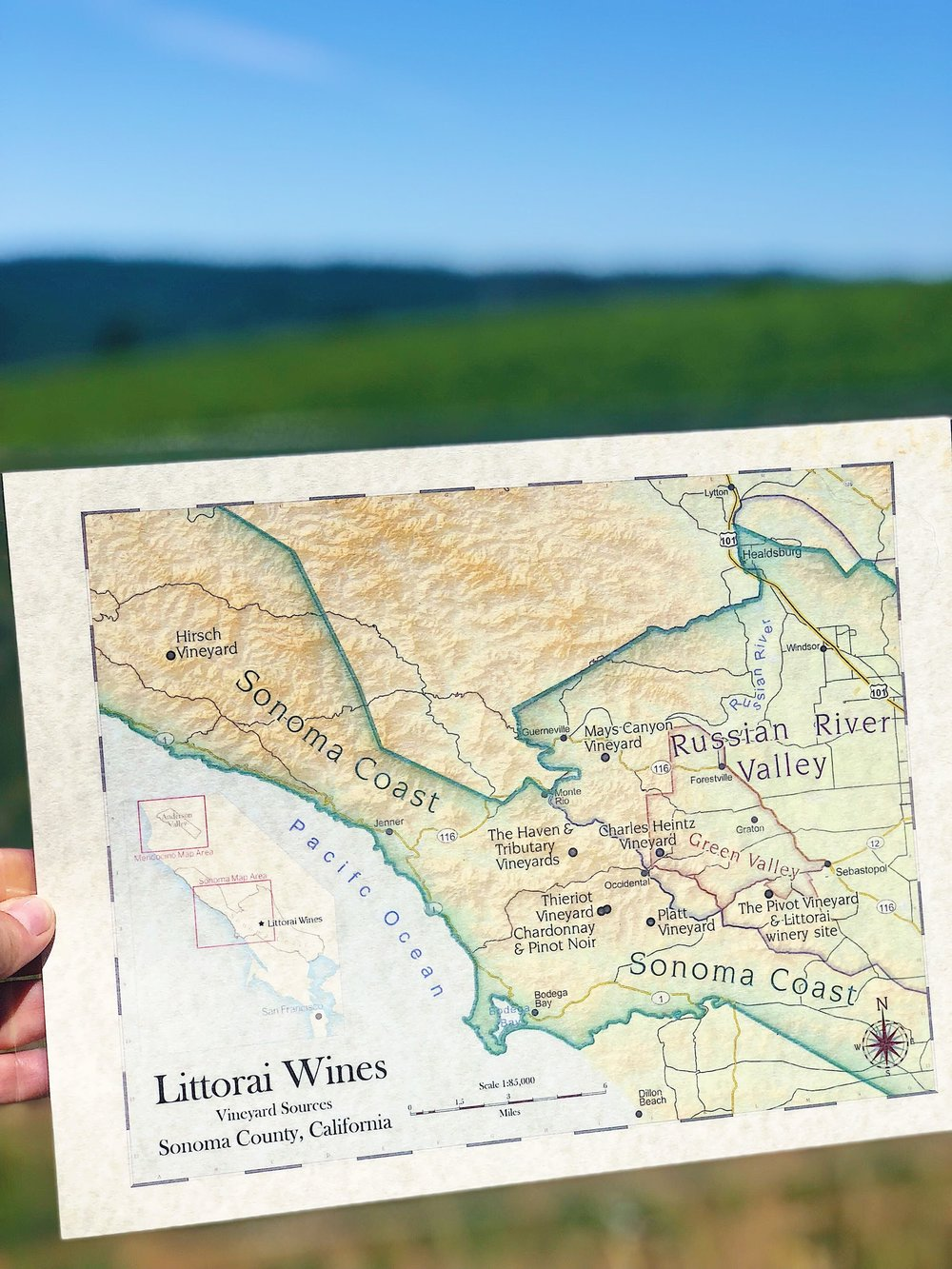 Littorai Wines Vineyard Sources