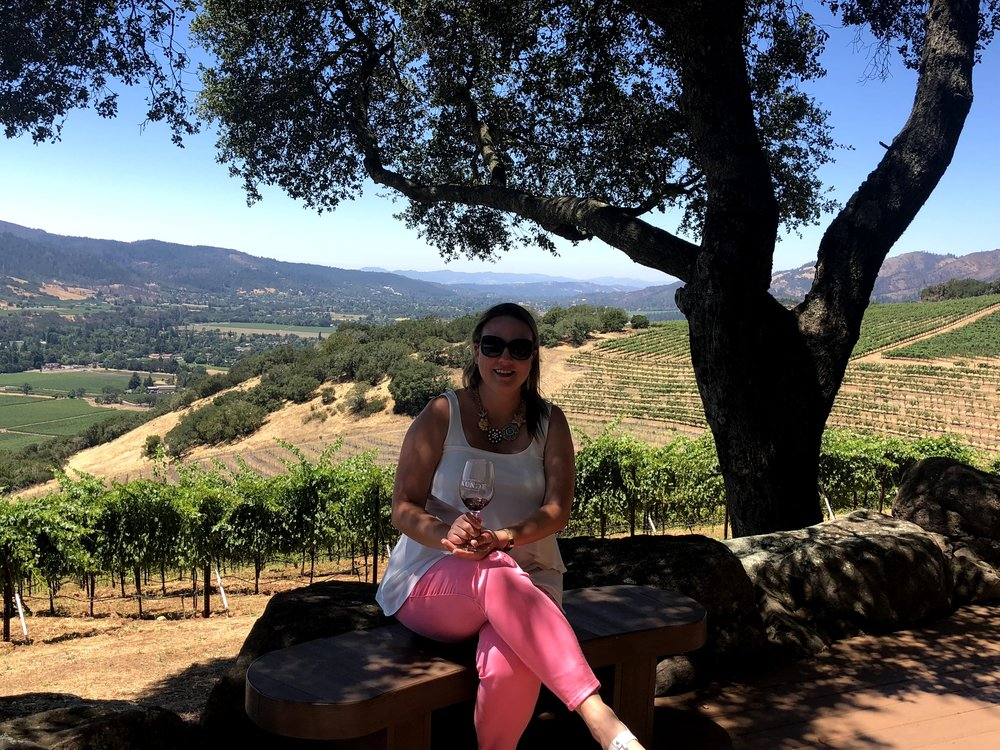 Sonoma Wine Life Views At Kunde Winery