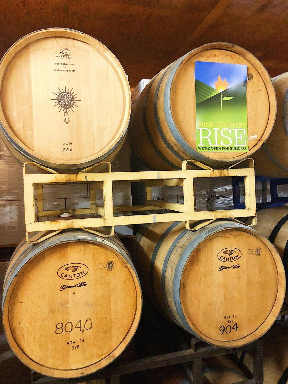 Crux Winery Tasting