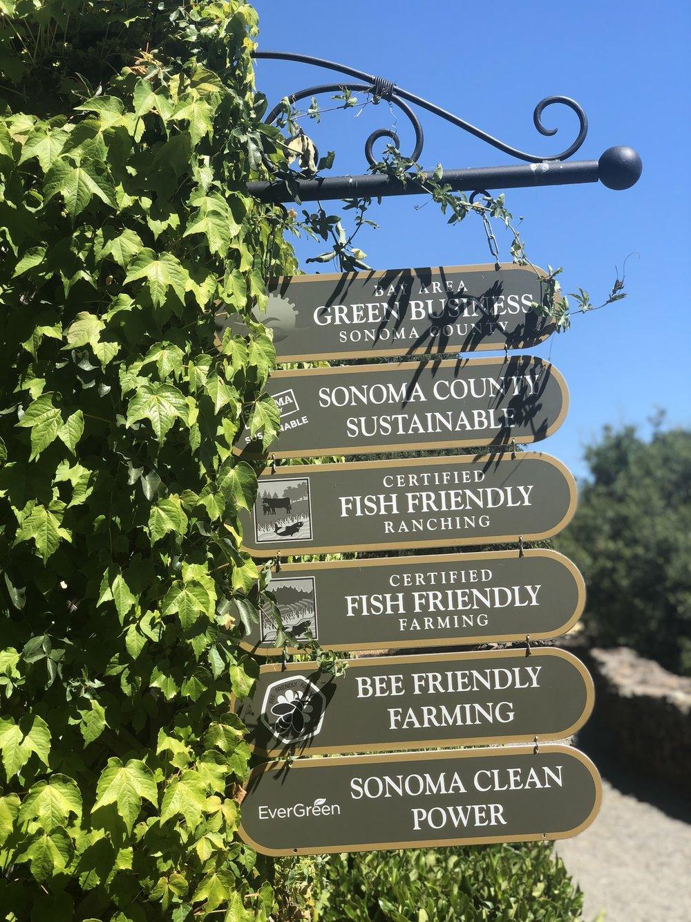 Jordan Winery Environmentally Friendly