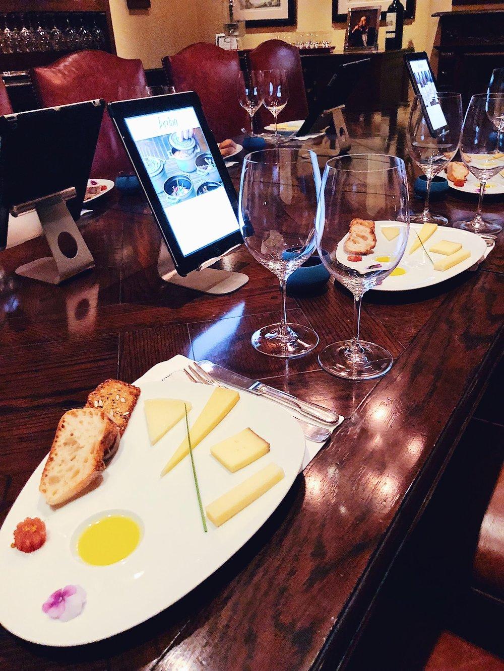 Jordan Winery Cheese Pairing