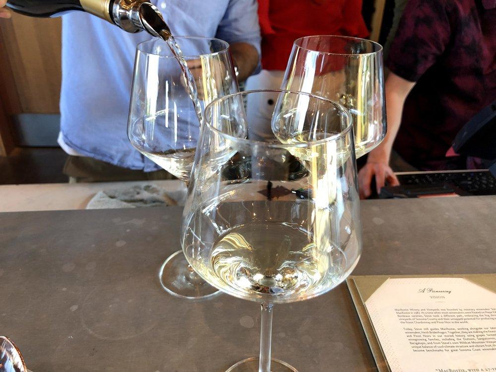 Chardonnay Wine Tasting