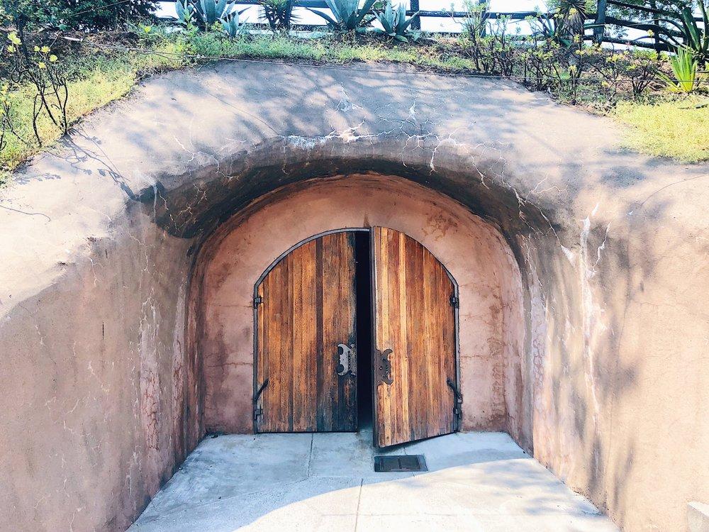 Benzinger Winery Wine Cave